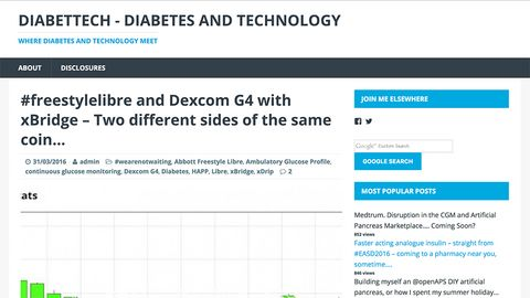 Diabettech - tech comparison Freestyle Libre vs Dexcom CGM
