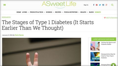 A sweet life blog - Pathophysiological stages of diabetes