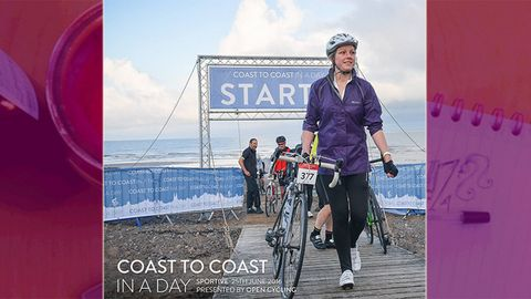 Coast to Coast in a Day - Miss Jen Grieves