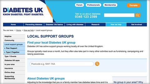 Local support groups - Diabetes UK
