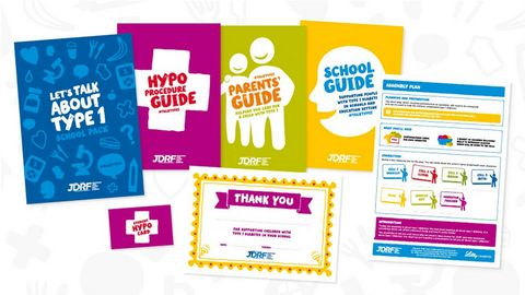 JDRF school packs