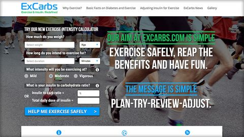 ExCarbs - Exercise and Insulin Redefined