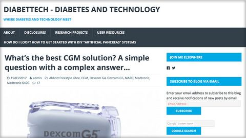 Diabettech - what's the best CGM solution?