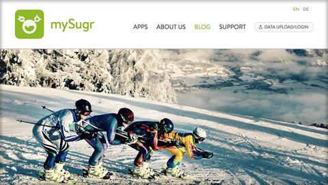 mySugr Skiing Blog