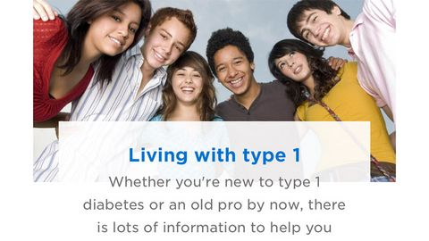 JDRF information for young people