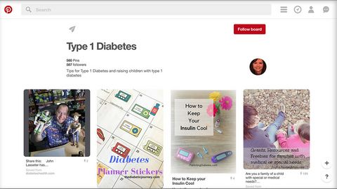 Parenting Diabetes on Pinterest