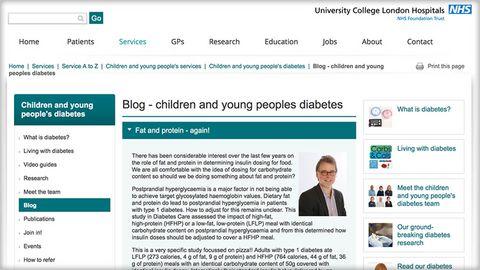 UCLH children's department blog