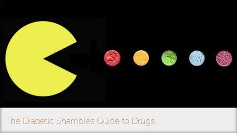 Diabetic Shambles on drugs!