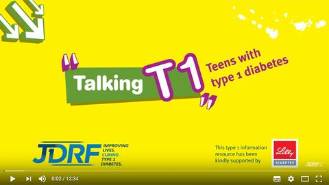 JDRF - Talking T1, teens with diabetes