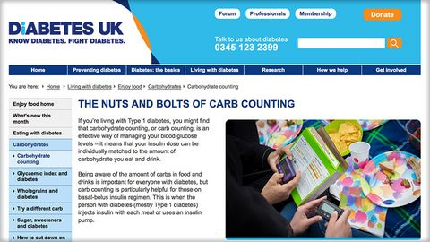 Nuts and bolts of Carb Counting - Diabetes UK