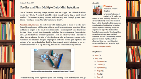Multiple Daily Mini Injections - Adrian Long's approach to MDI with Libre