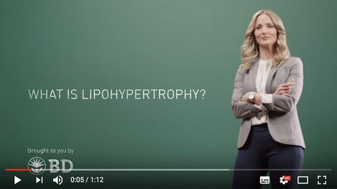What is lipohypertrophy - video by BD