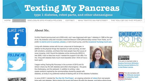 Texting my pancreas