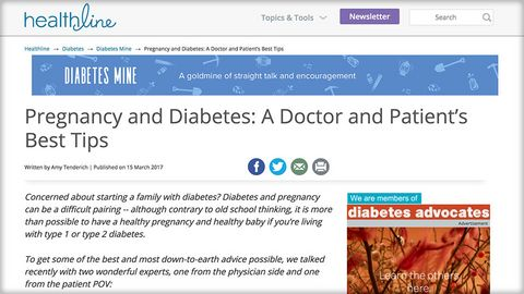 Healthy pregnancy with T1 - Doctor and PWD hints