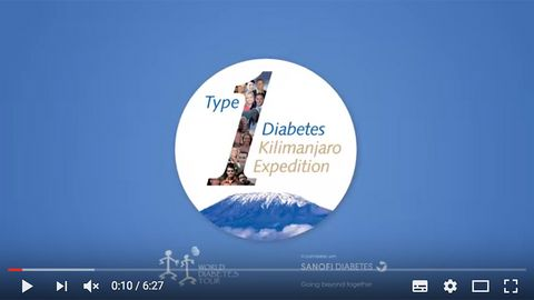 Sanofi - Type 1 Diabetes Expedition - Kilimanjaro Expedition