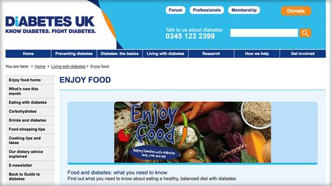 Enjoy Food - Diabetes UK