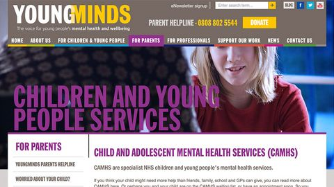 Young Minds - Children and Young Person Mental Health