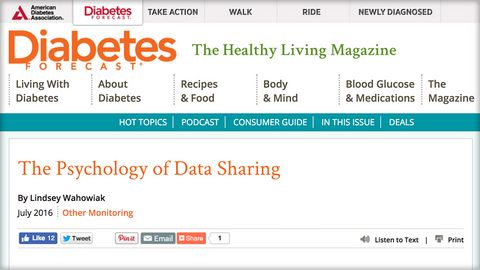 ADA future of data sharing